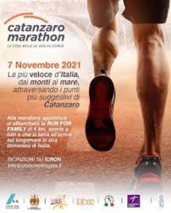 """images Prima """"Catanzaro Marathon"""": lunedì la presentazione"""
