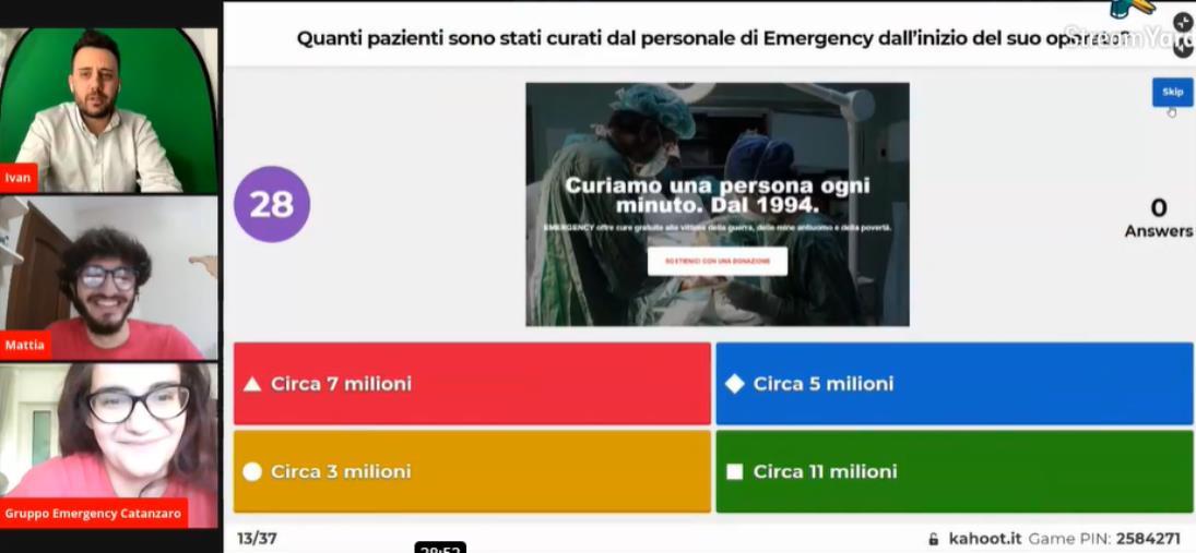 "images Catanzaro. Ieri il Qui(C)z 4 Emergency. Ancora una volta vince ""la solidarietà"""