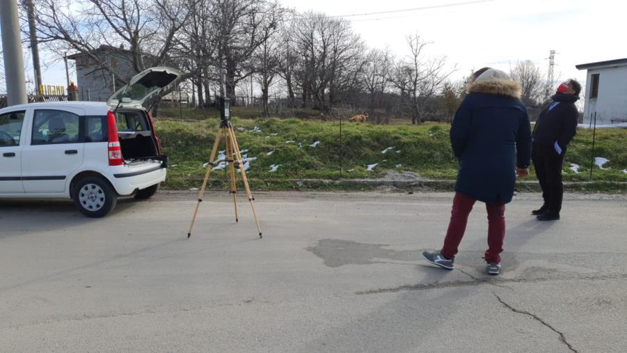 images Arpacal. Campagna di monitoraggio dei campi elettromagnetici e radon: avviata la misurazione a  Petronà