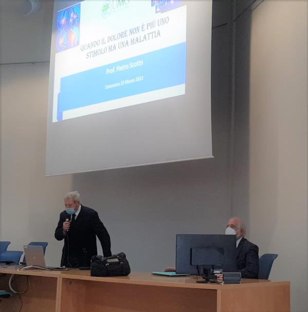 """images """"Centro di terapia del dolore di primo livello"""", all'UMG il benvenuto al nuovo progetto con il seminario del prof Pietro Scotto"""