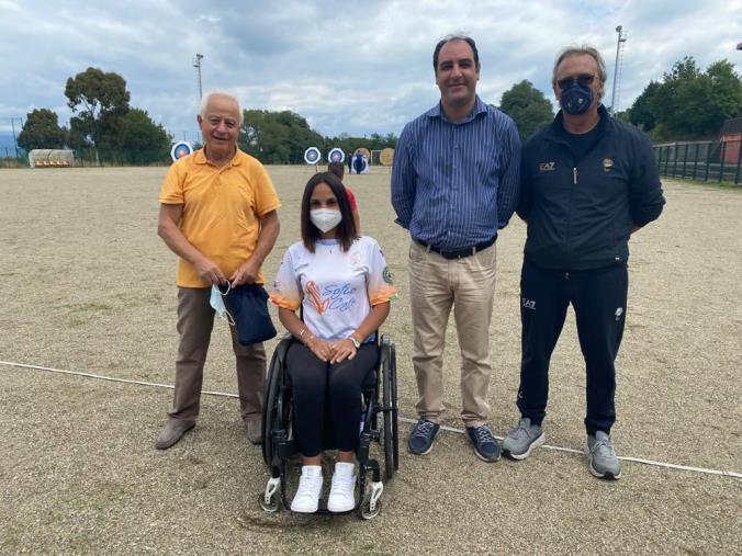 Maida ha ospitato la campionessa paralimpica reggina Enza Petrilli
