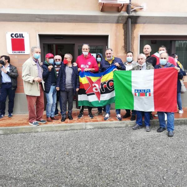 """images Attacco alla sede Cgil, Vallone (Anpi): """"Guai a minimizzare l'accaduto o trovare giustificazioni"""""""