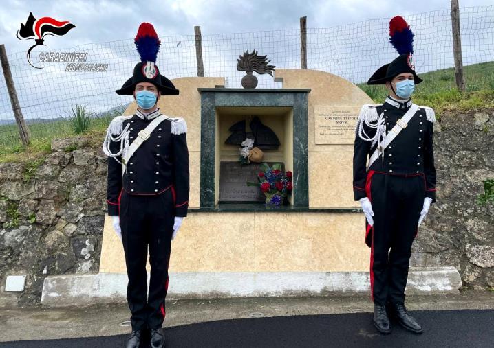 images Commemorazione dell'uccisione del brigadiere Carmine Tripodi. Il 36° anniversario ricordato dai carabinieri