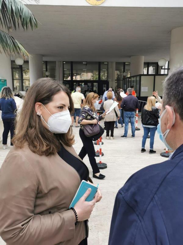 """Reggio Calabria. Visita della sottosegretaria Nesci: """"Ora al Gom e all'Asp garantiti un numero maggiore di vaccini"""""""