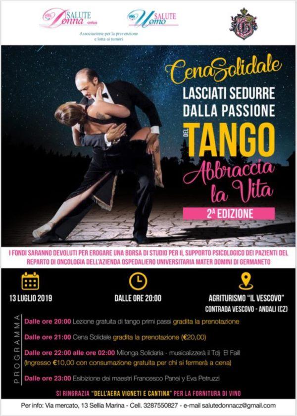 images Andali, serata di tango e beneficenza
