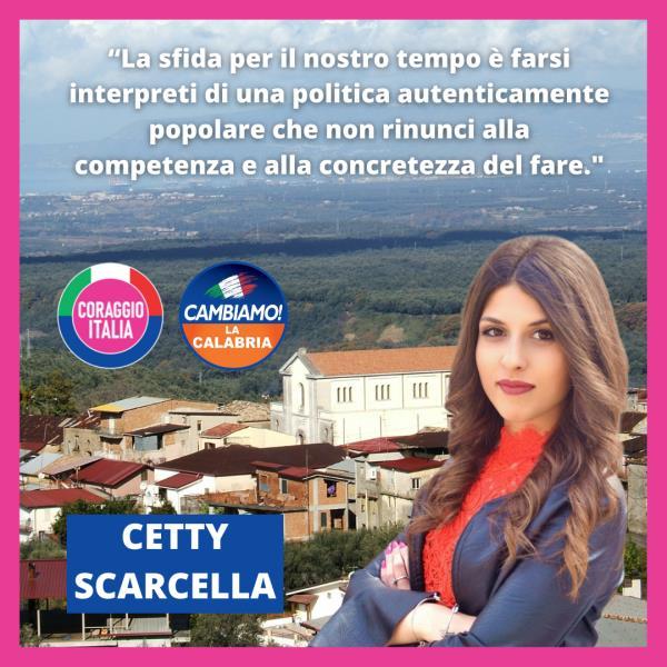 """images Cetty Scarcella (Cambiamo giovani): """"Ci vuole il coraggio di fare"""""""