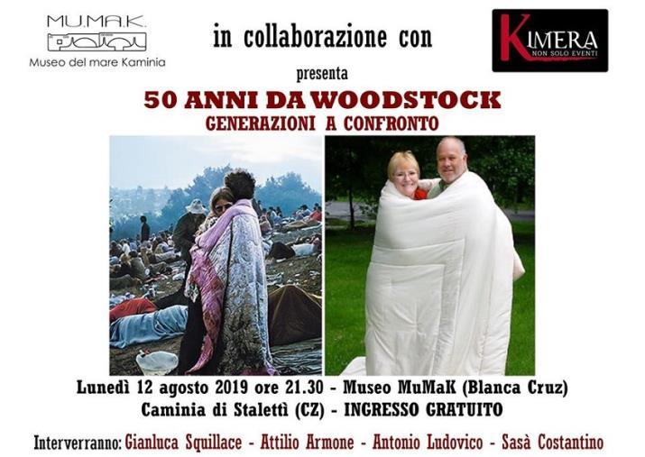 images Al MuMaK (il Museo del Mare di Caminia) l'incontro per ricordare Woodstock a 50 anni dal festival più importante di sempre