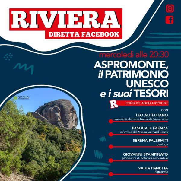 images L'Aspromonte tra i Geoparchi patrimonio dell'Unesco: ne parlerà domani sera in diretta facebook la rivista Riviera