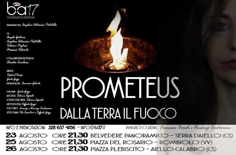 """images """"Prometeus svela verità scomode"""": oggi la prima tappa a Serra d'Aiello"""