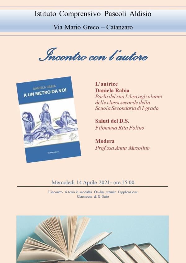 """images """"Ti racconto una storia"""": incontri con gli autori all'Istituto comprensivo Pascoli-Aldisio di Catanzaro"""