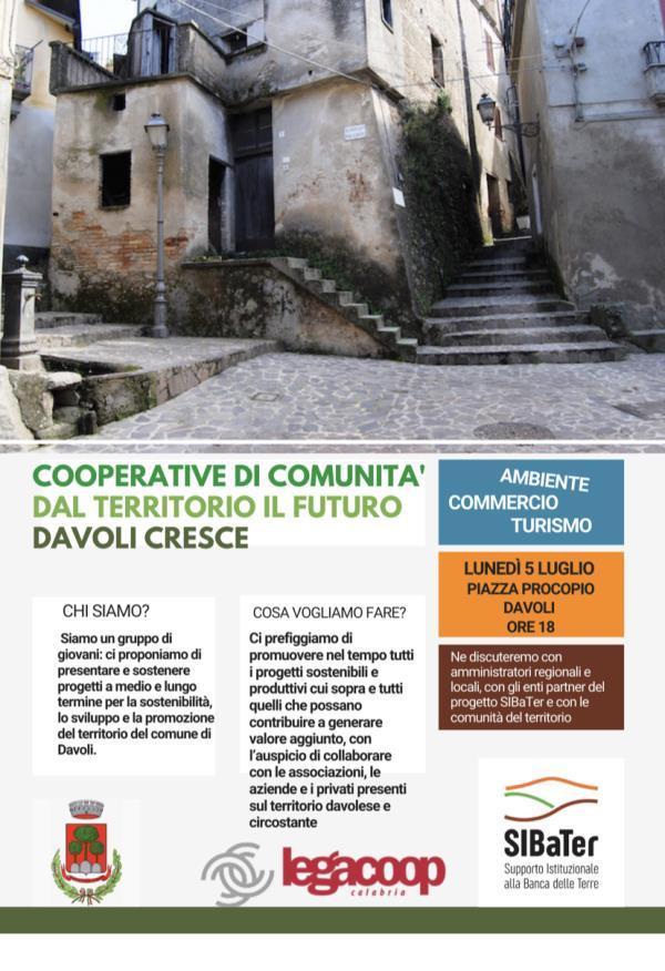 images Cooperative di comunità: lunedì a Davoli la conferenza di  Legacoop, Progetto SIBaTer e Comune