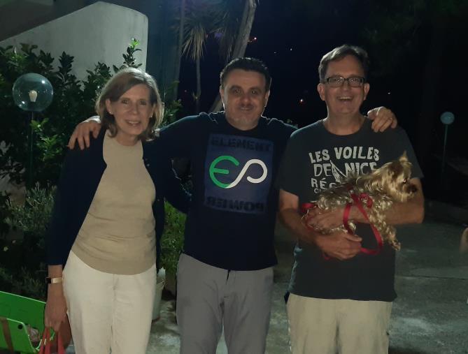 """images Sellia, i due amici americano tornano a casa. L'emozione del sindaco Zicchinella: """"Innamorati del nostro borgo"""""""
