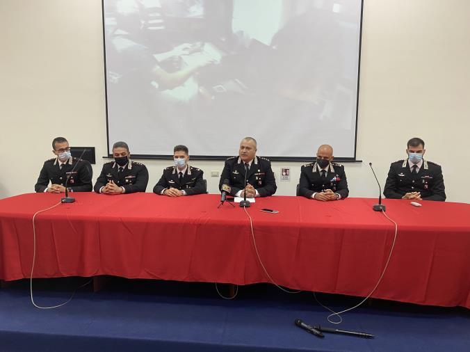 images Carabinieri, cambio dei vertici operativi in provincia di Catanzaro: la presentazione