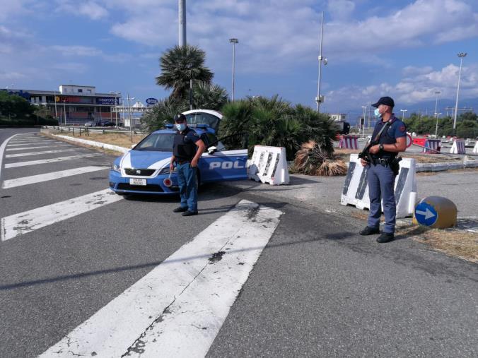 images Villa San Giovanni, aggredisce la moglie con una stampella all'interno di un negozio: arrestato
