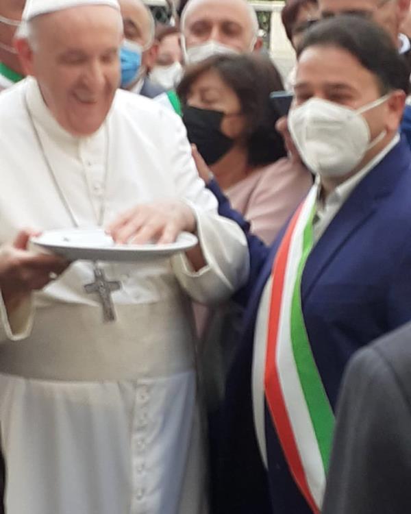 """images Decennale """"Città del Crocifisso"""". La città di Altomonte incontra il Papa per il Giubileo di ringraziamento"""