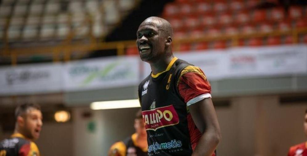 images Tonno Callipo Calabria Volley Vibo, arriva Abouba