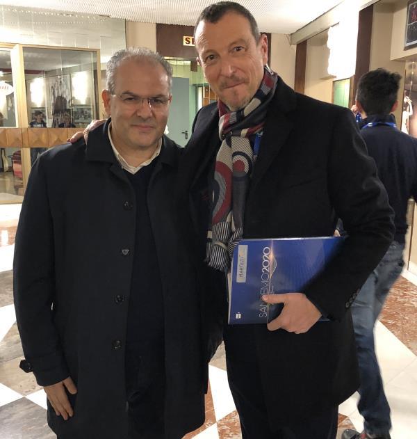 Il maestro orafo Michele Affidato realizza i premi speciali per il Festival di Sanremo