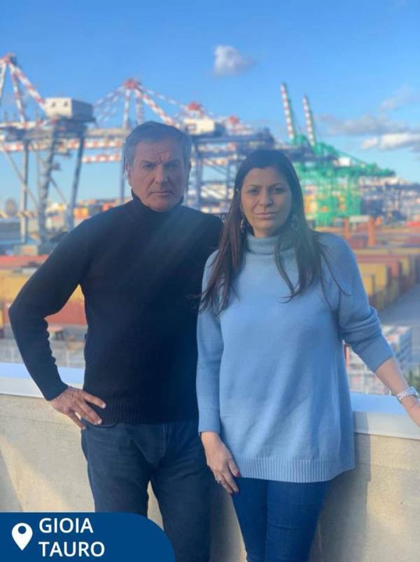 """images Regionali. Santelli incontra il commissario dell'Autorità portuale di Gioia Tauro: """"Necessario effettivo rilancio del porto"""""""