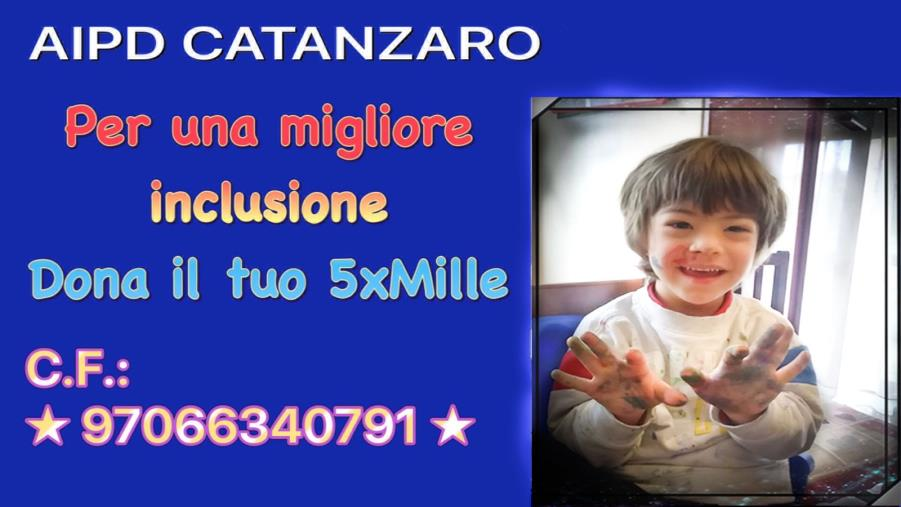 images Al via la campagna 2021 dell'Associazione italiana persone down di Catanzaro per il 5x1000