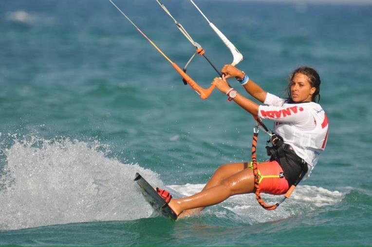 images Kitesurf, ai campionati italiani brilla Alice Ruggiu del Club Velico Crotone