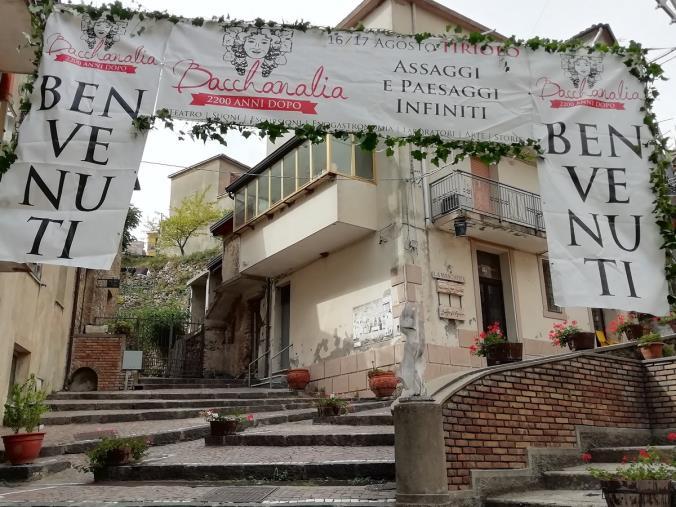 "images Venerdì e sabato Tiriolo al via ""Bacchanalia"""