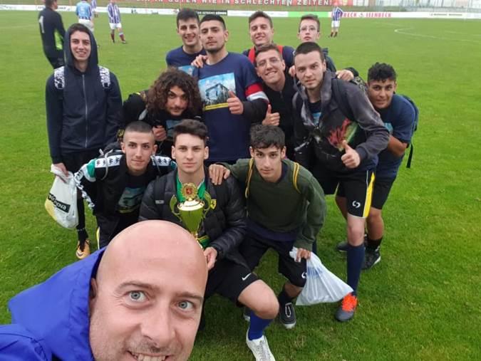 """images Calcio, Associazione """"Amici del Tedesco"""" ad Hamn per un torneo internazionale"""