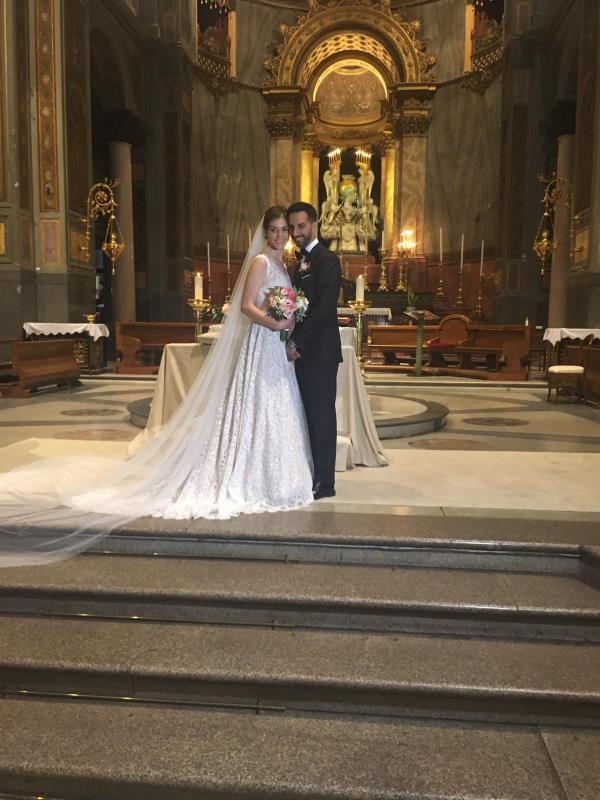 images Oggi sposi. Tanti auguri ad Andrea Lucà e Mariarosaria Italiano che hanno coronato il loro sogno d'amore