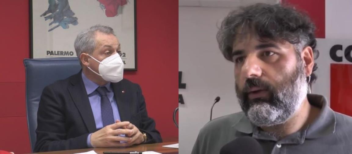 """images Sposato (Cgil) e Valentino (Filcams Cgil) al governo: """"Vaccini anche agli operatori di Turismo e Terziario"""""""