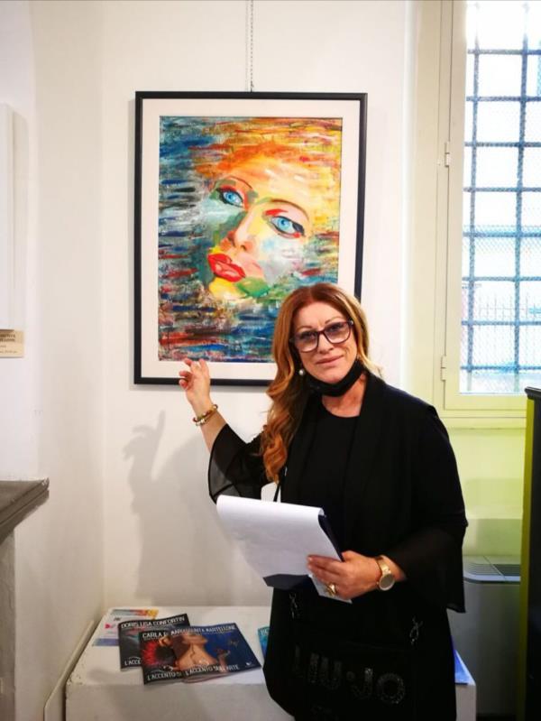 """images """"La bellezza è sempre contemporanea"""", Angiolina Marchese da Diamante a Roma il 2 luglio con una mostra collettiva di artisti nazionali"""