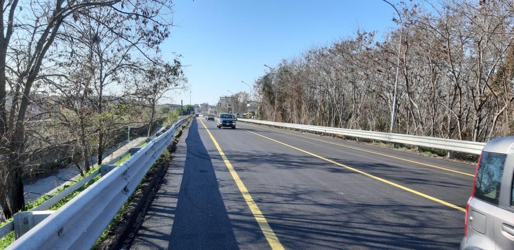 images Viabilità. Aperto al traffico il ponte 'Allaro' sullaSS 106 Jonica a Caulonia