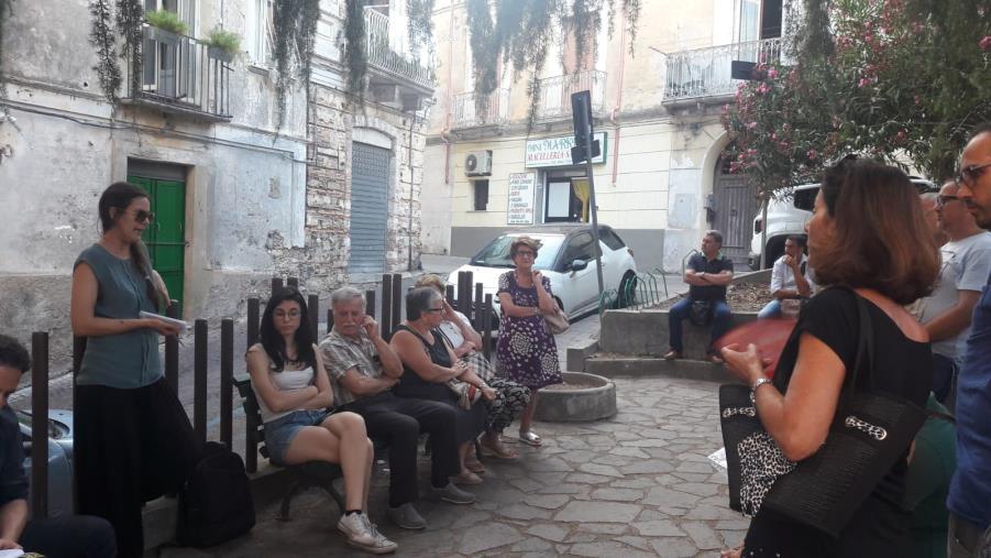 """images Inversione di marcia nel centro storico di Catanzaro, qualcuno dice """"no"""""""