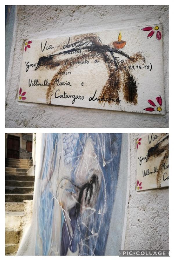 images Vita nei quartieri. A Gagliano atti vandalici sui murales ma la comunità guarda avanti nel segno della solidarietà