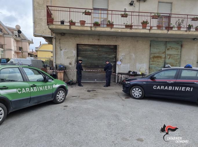 images Lamezia Terme, scoperta autofficina abusiva: sequestrate attrezzature e rifiuti speciali