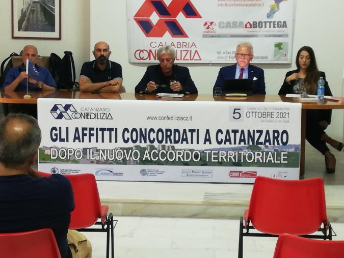"""images """"Gli affitti concordati a Catanzaro dopo il nuovo Accordo Territoriale"""": l'incontro di Confedilizia con tecnici ed esperti"""