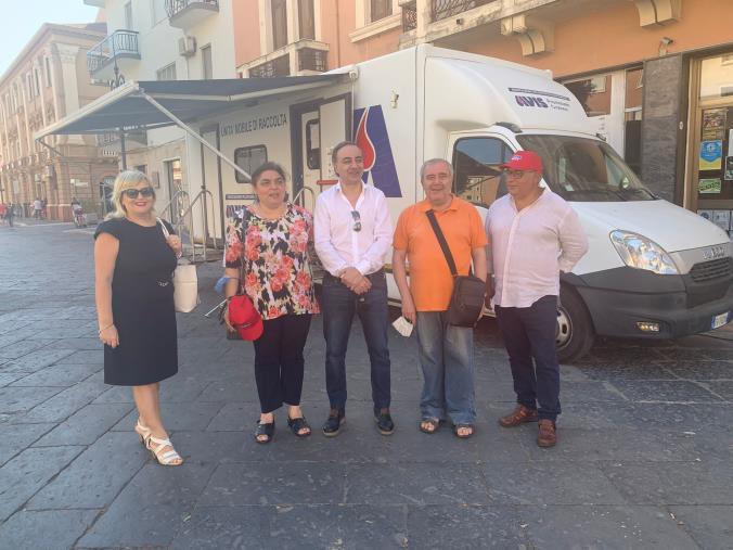 images Raccolta del sangue, l'avvocato Rocca (MF Crotone) ringrazia i donatori del crotonese per la partecipazione all'iniziativa di oggi