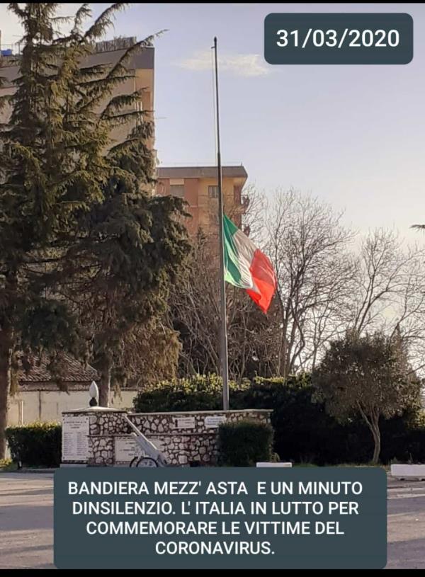 images Coronavirus. La Calabria si ferma e i sindaci rendono omaggio alle vittime del Covid-19 (VIDEO)