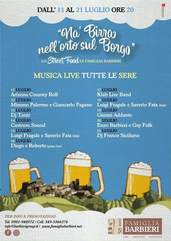 """images Altomonte, procede con successo l'iniziativa """"Nà birra nell'orto sul borgo"""""""