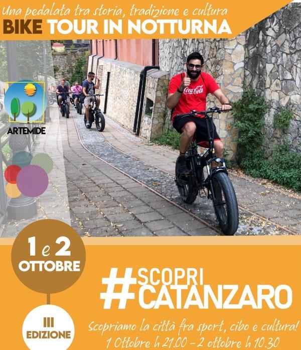 images #ScopriCatanzaro, domanie sabato le iniziative di Artemide con Amc: Già sold out il bike tour in notturna
