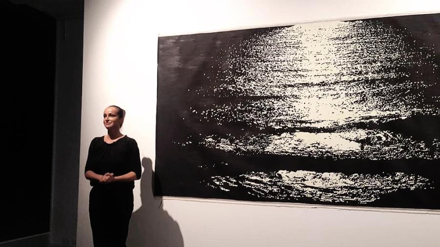 images Il mare di Caminia al museo Macro di Roma e in Svizzera