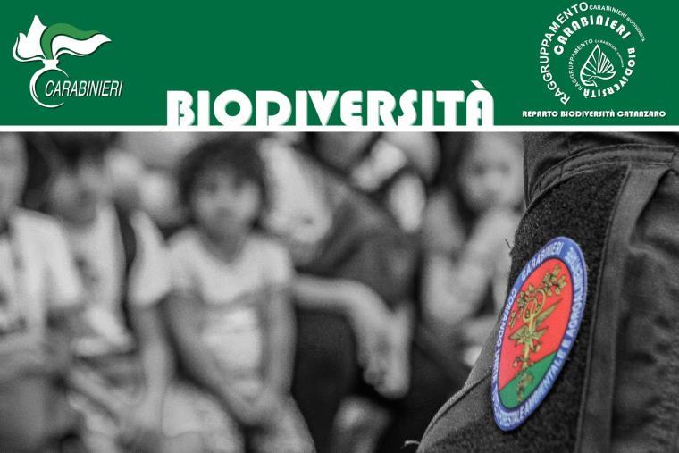 """images I carabinieri incontrano i piccoli pazienti dell'ospedale di Lamezia Terme per la """"Befana della Biodiversità"""""""