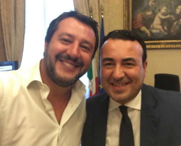 """images Salvini prosciolto, la soddisfazione di Calabretta: """"Avanti col nostro impegno politico"""""""