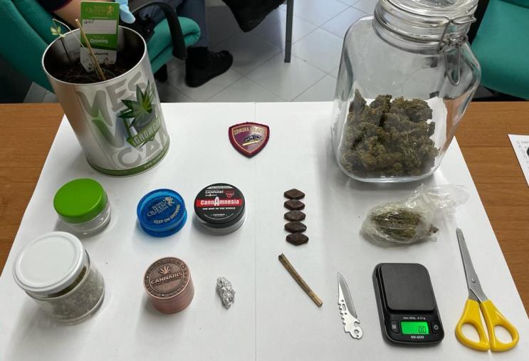 images Taurianova. Trovato a casa con 70 grammi di marijuana: obbligo di firma per un 24enne