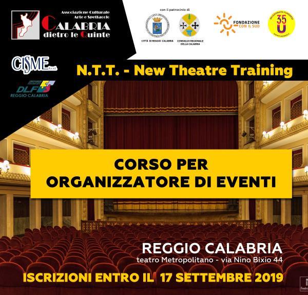 images Dal 20 settembre al 12 ottobre il corso per promoter eventi al teatro Metropolitano di Reggio Calabria