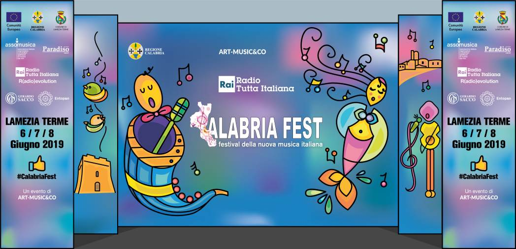 "images Trionfale prima serata del ""Calabria Fest-Tutta italiana"""
