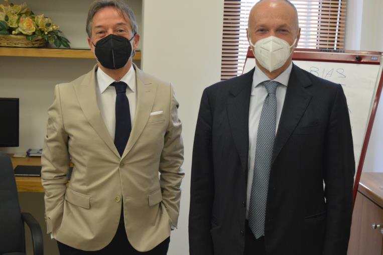 """images Nasce il binomio BCC di Montepaone-Sacal. Il presidente Caridi: """"Una collaborazione per la ripartenza"""""""