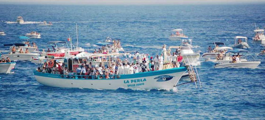 images Madonna a mare a Catanzaro, il plauso di Longo e Brugnano agli organizzatori