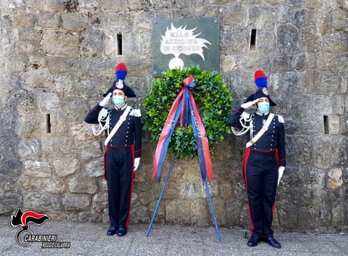 images 25° anniversario dell'omicidio del Maresciallo Capo dei Carabinieri Pasquale Azzolina: i Carabinieri di Sant'Eufemia d'Aspromonte lo hanno ricordato con una cerimonia