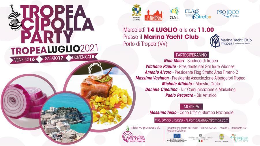 """images Tropea. Arriva il """"Cipolla Party"""": 3 giorni di eventi per celebrare l'icona del Made in Calabria"""