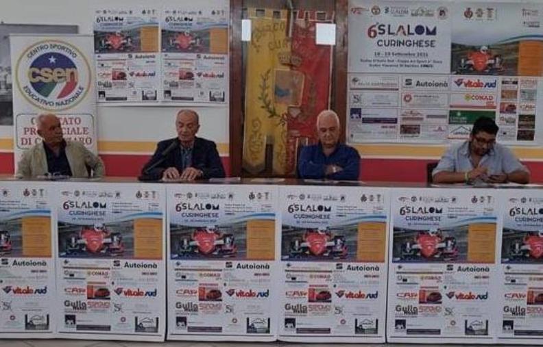 images Presentata la IV edizione dello 'Slalom Curinghese' in programma il 18 e 19 settembre