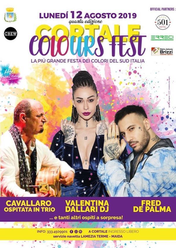 images Cortale colours fest, tutto pronto per la quarta edizione